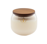 Only Orb - Glass Teak Om Candle