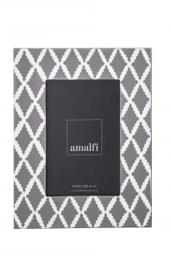 "Amalfi - Palermo 4x6"" Photo Frame Diamond"