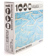 Buncha' Masks 1000-Piece Jigsaw Puzzle