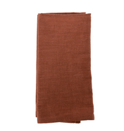 Annabel Trends - Stonewash Napkin 4pc Set - Terracotta