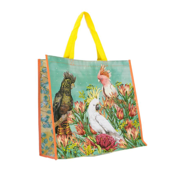 La La Land Cockatoos of Australia Market Bag