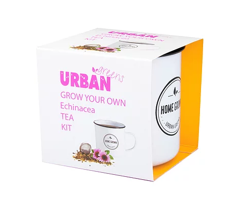 Urban Greens: Grow Your Own Echinacea Tea Kit
