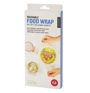 Reusable Food Wrap (Set of 4)