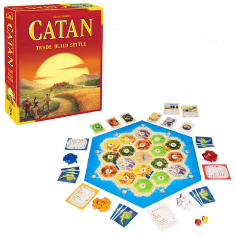 Catan Trade Build Settle - Classic Game