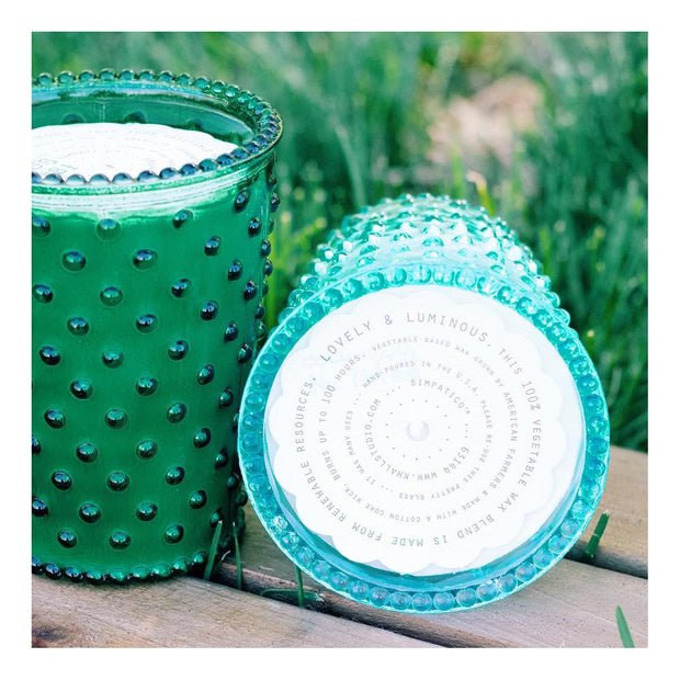 Simpatico Home -  Cucumber & Gin Hobnail 100HR Candle