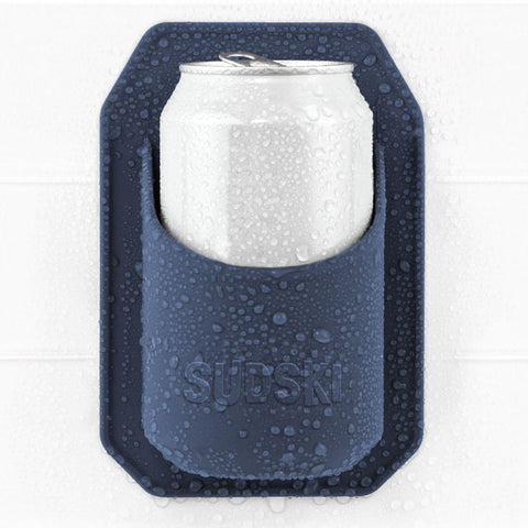 Journeyman Designs Shower Beer Holder - Navy