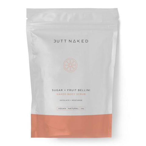 Butt Naked - Sugar & Fruit Bellini Body Scrub