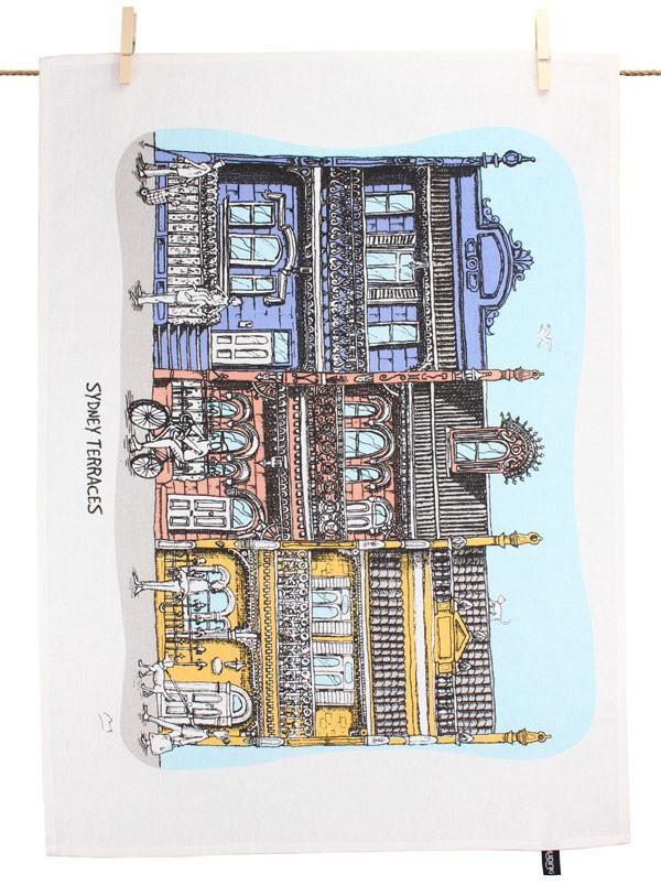 Squidinki - Inner City Tea Towel