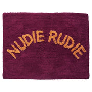 Sage x Clare - Tula Nudie Bath Mat Boysenberry