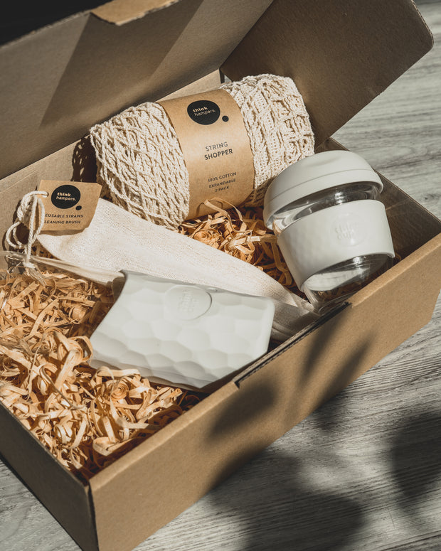 Think Hampers Eco Reusable Living Gift Pack | Beanstalk Single Mums