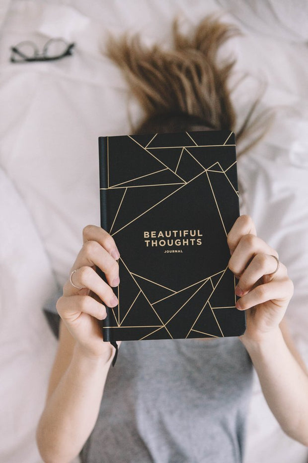 A5 Beautiful Thoughts | Black