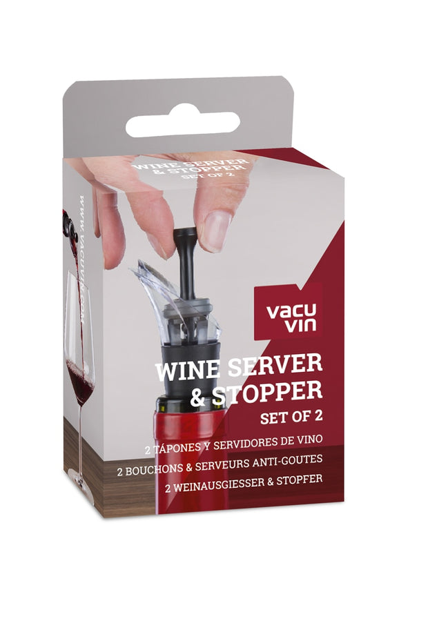 Vacu Vin - Wine Server & Stopper (Set of 2)