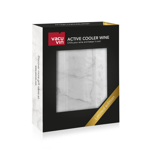 Vacu Vin Active Cooler Wine, Marble (Limited Edition)