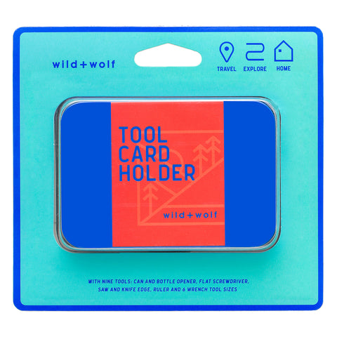 Wild + Wolf - Tool Card Card Holder Duo