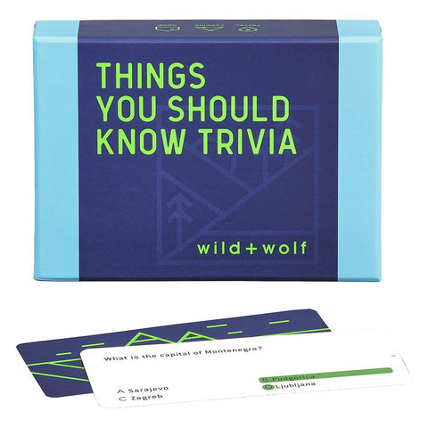 Wild + Wolf - General Knowledge Trivia