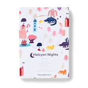 Halcyon Nights - Wild Wood Baby Wrap