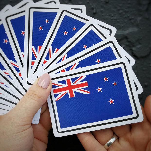 Kiwi Slang Play Cards