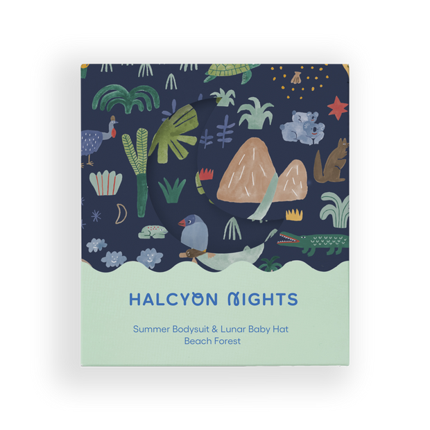 Halcyon Nights - Beach Forest Summer Gift Pack