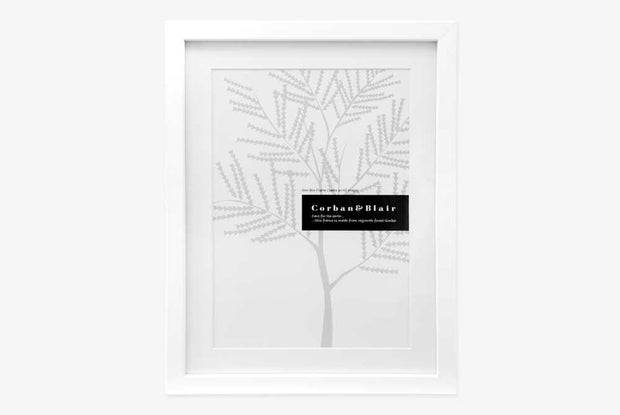 Corban & Blair - A3 Slim Frame - White