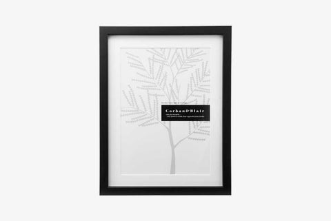 Corban & Blair - A4 Slim Frame - Black