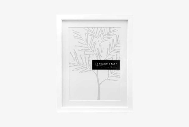 Corban & Blair - A4 Slim Frame - White