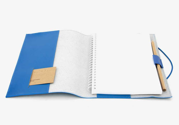 Corban & Blair - Leather A5 Journal - Blue