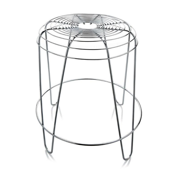 Alessi - A Tempo Stool Chrome