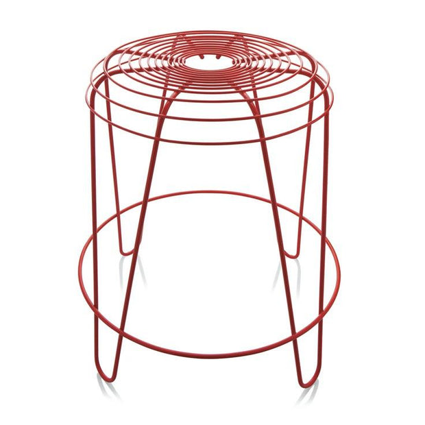Alessi - A Tempo Stool Red