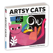 Artsy Cats Board Book