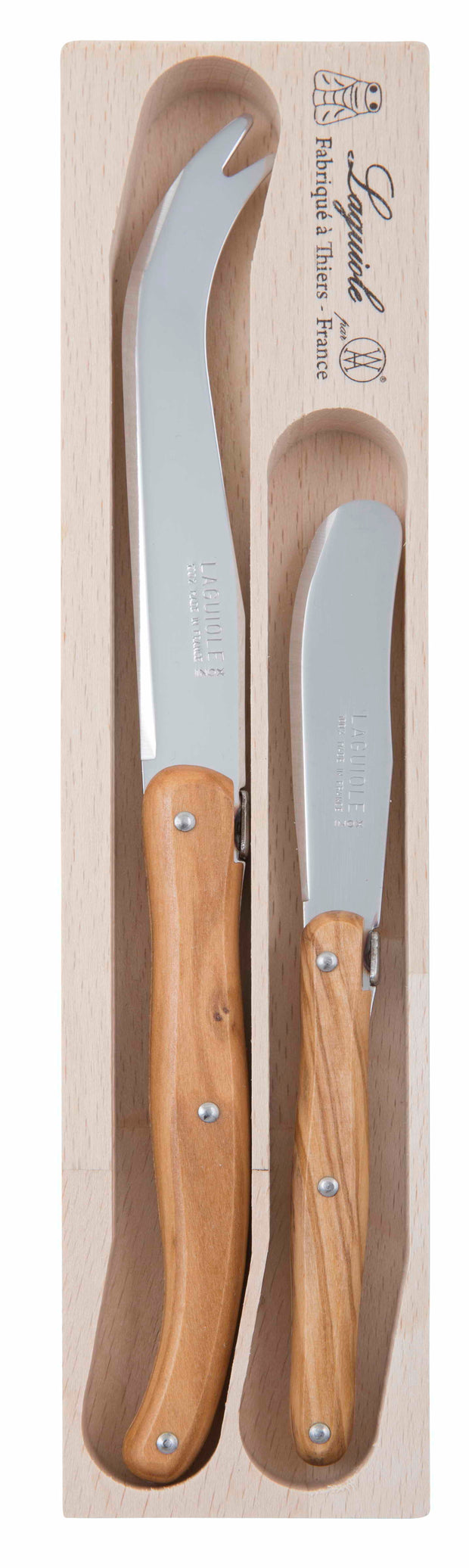 André Verdier - Debutant Cheese Knife Wood (2pcs)
