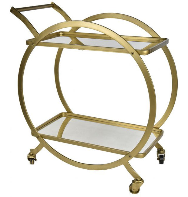 Brass Cocktail Walter Drinks Trolley