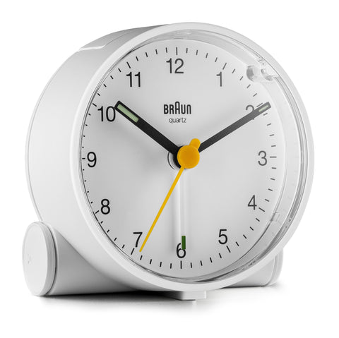 Braun - Classic Analogue Alarm Clock (Bc01) - White