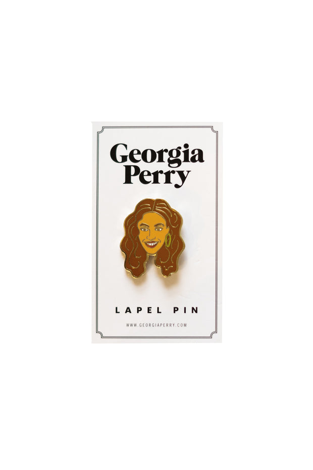 Georgia Perry - Beyonce Enamel Pin