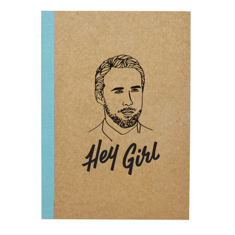 Famous Flames Hey Girl Journal