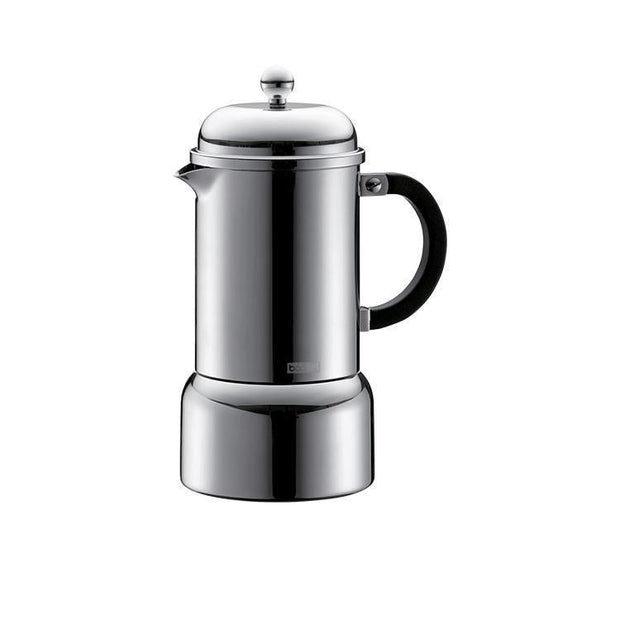 Bodum Chambord Espresso Maker 6 Cup-Coffee Makers-Bodum-Chrome-OPUS Design