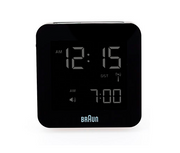 Braun Digital Clock (Bnc009) - Black-Alarm Clocks-Braun-OPUS Design