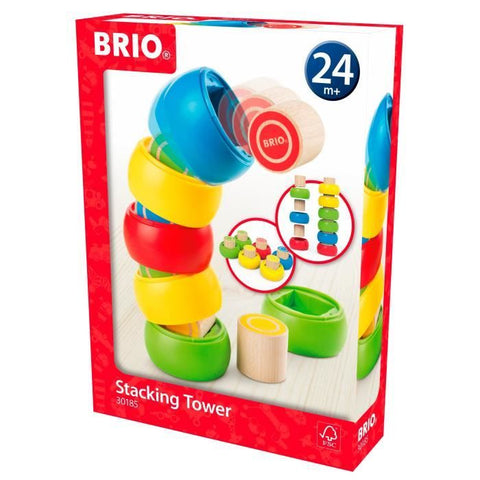 BRIO - Stacking Tower