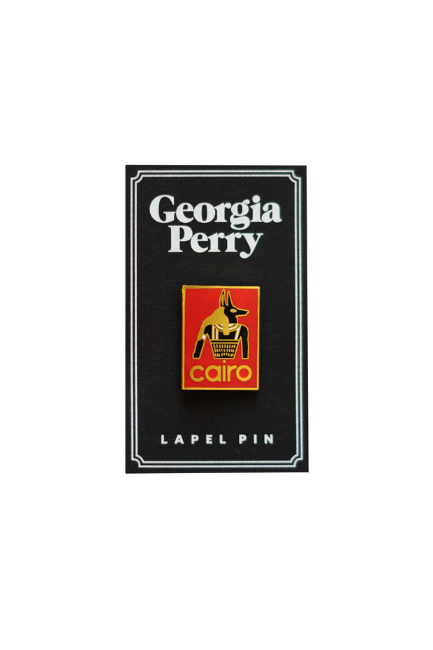 Georgia Perry - Cairo Enamel Pin
