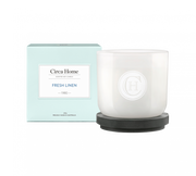 Circa Home 1980 Fresh Linen 260g Soy Candle