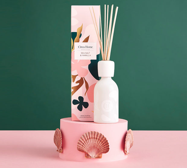 Circa Home - Limited Edition Sea Salt & Vanilla 250ml Fragrance Diffuser