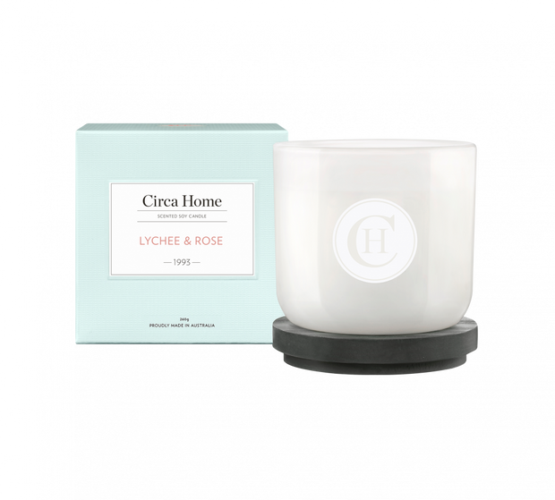 Circa Home 1993 Lychee & Rose Candle 260g