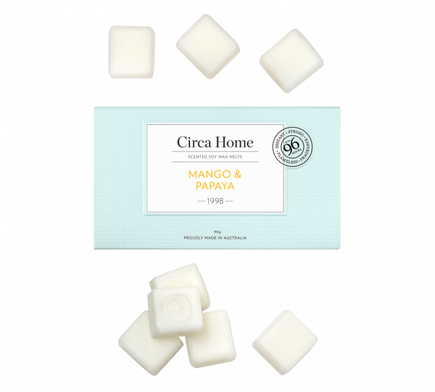 Circa Home 1998 Mango & Papaya Scented Soy Melts