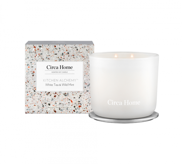 Circa Home Kitchen Alchemy - White Tea & Wild Mint 260g Candle