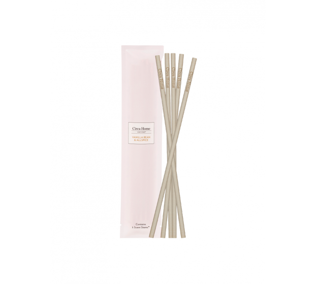 Circa Home - Vanilla Bean & All Spice Replacement Scent Stems