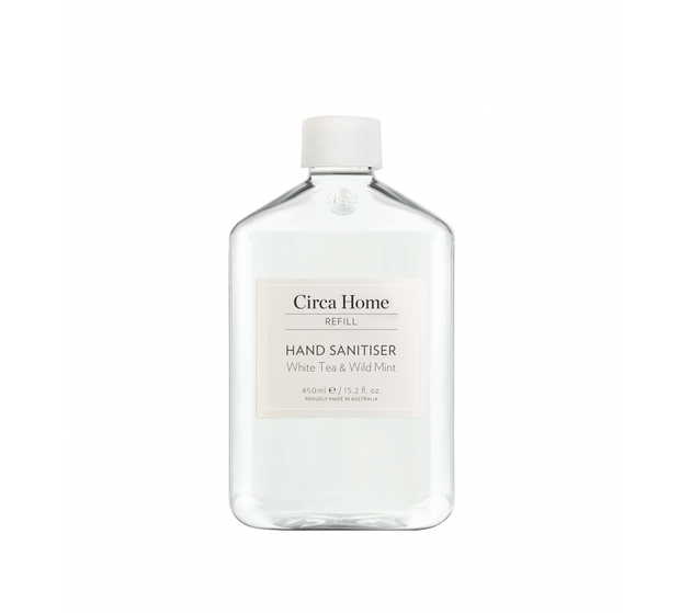 Circa Home - White Tea & Wild Mint Hand Sanitiser 450ml Refill