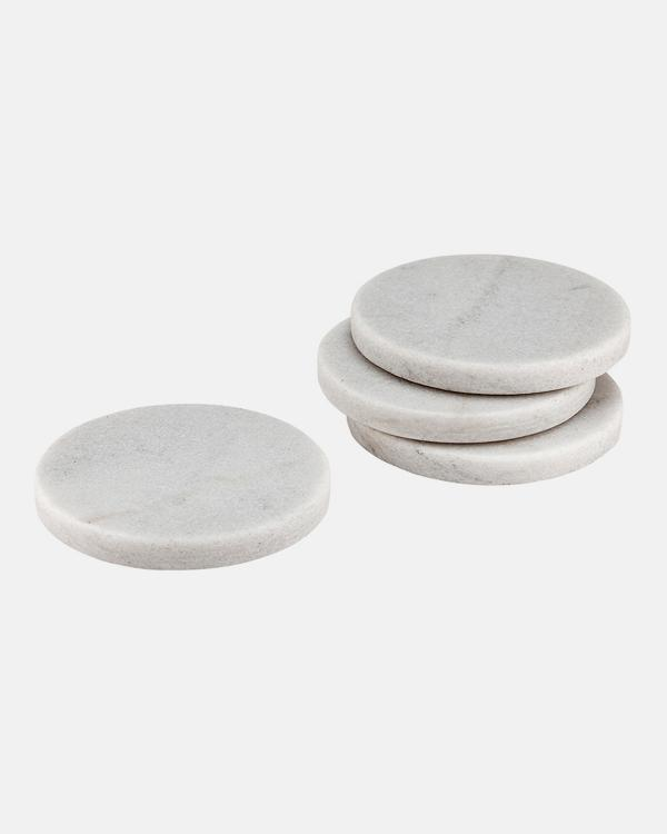 Tempa - Buckley White 4 Pack Coaster