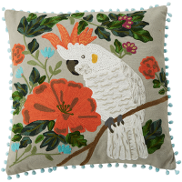 Cockatoo Cushion - Multicolour