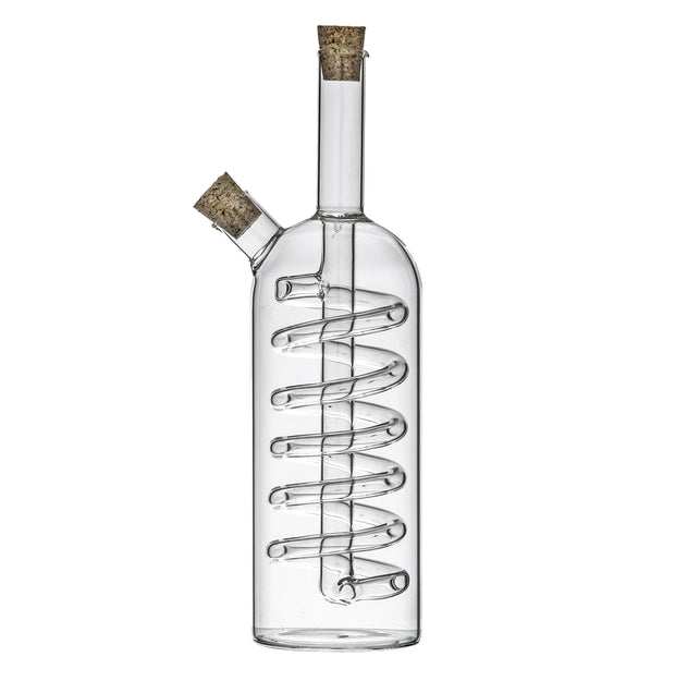 Spiral Oil and Vinegar Bottle