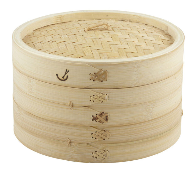 Two Tier Bamboo Steamer - 26cm