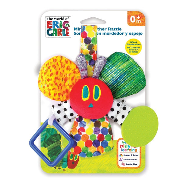 The Very Hungry Caterpillar Mirror Teether Rattle